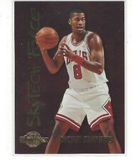 1994-95 SKYBOX PREMIUM SKYTECH FORCE DICKEY SIMPKINS #SF27 - CHICAGO BULLS