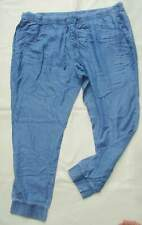 ESMARA® Damen Haremshose 44 46 48 50 52 Freizeithose Hose Relaxhose blau schwarz