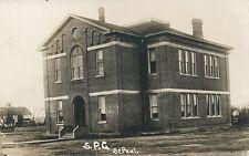 St. Paul MN?? * S.P.C.   Public School?  RPPC  ca 1908