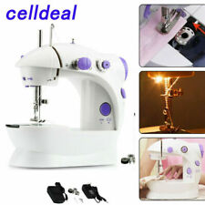 Electric Portable Mini Sewing Stitch Machine Adjustable 2 Speeds Foot Pedal LED