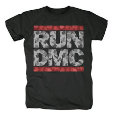 Run Dmc - Camo Logo Black T-Shirt Unisex Tg. XXL IMPORT