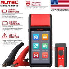 Autel MaxiBAS BT608 Auto Diagnostic Battery & Electrical System Analyzer Scanner
