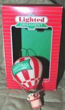 Hallmark Lighted Christmas First Christmas Together -1986 - NM+ w/ box