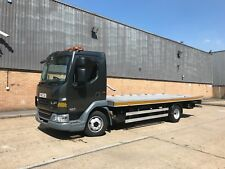 2012 DAF LF 7.5T TILT AND SLIDE RECOVERY TRUCK