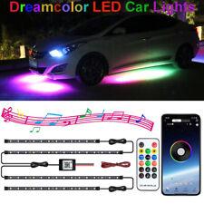 RGB LED Auto Ambientebeleuchtung Dreamcolor Unterbodenbeleuchtung Lichtleiste DE