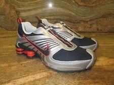 2009 WMNS Nike Shox Turbo 8 ALT SZ 8 Dark Obsidian Orange OG NZ GS 6Y 344928-441