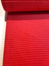 Meterw, ab 0,5 m:  NEUHEIT Jersey in Breitcord-Optik, rot 150 cm br (€ 10,00/qm)