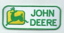 New 1 5/8 X 4 Inch John Deere Iron On Patch Free Ship P1