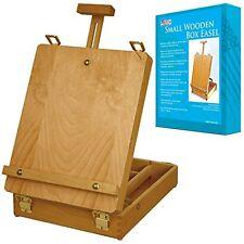 Desktop Artist Easel Wooden Portable Compact Stand