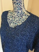 Roman Originals Sparkly Knitted Evening Top Size XL