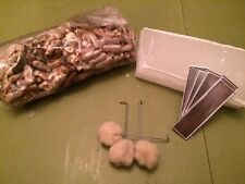Shiitake Plug Spawn Starter Kit - Grow Your Own Mushrooms Wax Dowels Mushroom