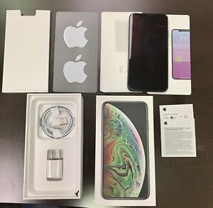 Apple iPhone XS Max 256GB Black ( Unlocked) See PictureScreen, Body All Work