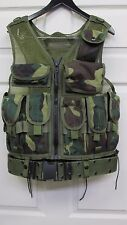 Eagle Industries Old School Tactical Assault Vest Woodland Camo Rifleman SEAL
