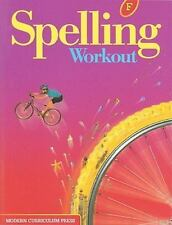 SPELLING WORKOUT LEVEL F Student by Modern Curriculum Press 9780765224859 NEW