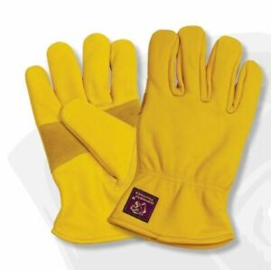 Parweld Panther Leather Drivers Gloves Fully Lined