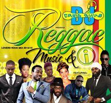 REGGAE MUSIC & I REGGAE LOVERS ROCK 2014/15 MIX CD