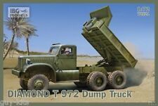 CAMION-BENNE  DIAMOND T 972, US. ARMY - KIT IBG Models 1/72 n° 72021