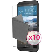 Films de protection Ultra Clear HD Pour HTC One M9 X10