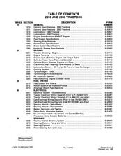 CASE IH 2390 & 2590 TRACTOR COMPLETE SERVICE MANUAL