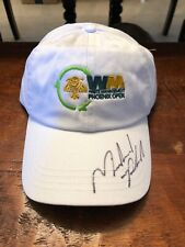 Michael Phelps Signed Waste Management Phoenix Open Golf Hat Psa Dna Coa USA