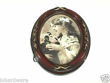 "4 "" x 6 ""  Retro O-Round Fashion Vintage Classic wood Photo Picture frames"