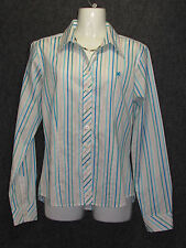 LILLY PULITZER Cotton Colorful Striped Pattern long Sleeve Shirt SZ 8 NEW