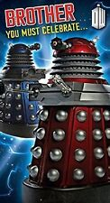 Doctor Who Brother Card  NEW