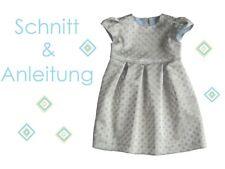 Schnitt+ Nähanleitung festliches Kleid Romy Gr.68-122 Ebook
