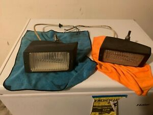 Genuine Pair Of Porsche 930 fog light lamps