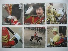 GB 2005 TROOPING THE COLOUR FULL SET SG 2540/5 VERY FINE USED STAMPS
