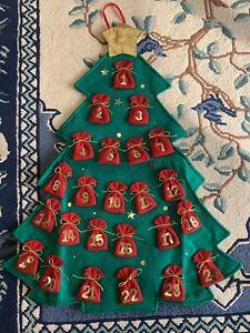 Felt Christmas Tree  Advent Calender New