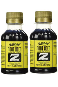 Zatarain's Root Beer Extract Concentrate 4 Oz Bottles 2 Pack