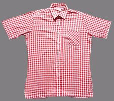 Rockabilly Cotton Blend Vintage Casual Shirts & Tops for Men