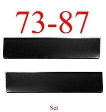 73 87 Chevy Door Skin Bottom Set, GMC Truck, Blazer, Suburban, Jimmy Both Sides!