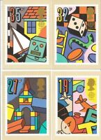GB POSTCARDS PHQ CARDS NO. 118 MINT FULL SET 1989 GAMES & TOYS 10% OFF ANY 5+