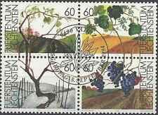 Timbres Flore Liechtenstein 1030/3 o année 1994 lot 8400