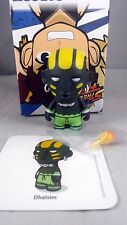 Kidrobot Street Fighter Series 2 Green Black Dhalism 2/20