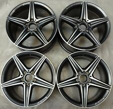 4 AMG Mercedes-Benz Alufelgen 8Jx18 ET43 A2134011800 E-Klasse W213 C238 A238 FM6