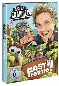 SASCHA GRAMMEL - FAST FERTIG! (DOPPEL-DVD)  2 DVD NEU Verschweißt