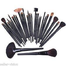 32 Piece Makeup Brush Cosmetic Set Kit Eyeshadow Foundation Powder Blush Kabuki