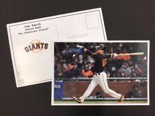 Joe Panik San Francisco Giants 2017 Major League Baseball 4x6 Postcard Series 1