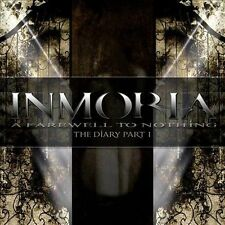 A Farewell to Nothing: The Diary, Pt. 1 by INMORIA (CD/SEALED - Rock It Up 2011)
