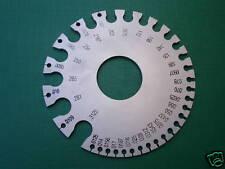 2-Side AWG SWG Round Gauge Metal Wire Sheet Thickness Diameter Gauge Measuring