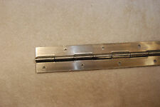 """304 Stainless Steel Piano Hinge 3/4""""x3/4""""x.060, 6"""" to 72"""", With Holes"""