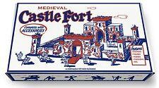 Marx Medieval Castle Fort Play Set Box