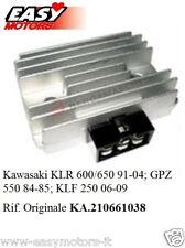 REGOLATORE TENSIONE KAWASAKI KLF 250 KLR 600/650 GPZ550