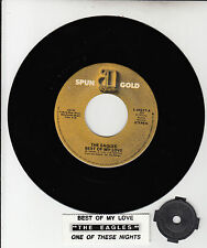 """THE EAGLES Best Of My Love & One Of These Nights 7"""" 45 vinyl record BRAND NEW"""