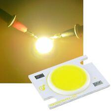 7 vatios cob highpower LED blanco cálido 550-600lm de alto rendimiento emisor 7 W High Power
