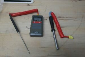 Digitron T200KC Thermometer for K THERMOCOUPLE with 2 probes