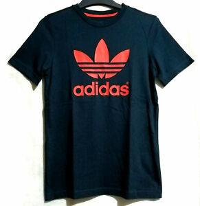 Adidas Logo Cotton Tshrt Navy Blue